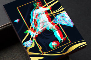 Cristiano Ronaldo Real Madrid FC Anaglyph 3D Unbranded Soccer Card