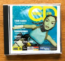 Official UK PlayStation Magazine Demo Disc Issue 15 ~ Tomb Raider ~