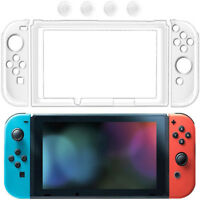 Clear Crystal Protective Shell Case Cover For Nintendo Switch NS NX Console
