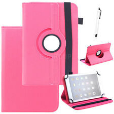 "Universal 360 Rotating Stand Case Protetive Leather Cover For 7"" 10.1"" Tablet PC"