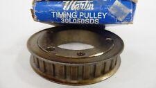 "Martin 30L050-SDS Timing Belt Pulley 30T 0.3750"" pitch 3.551"" x 0.500"" 30L050SDS"
