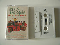 PHIL SPECTOR CHRISTMAS ALBUM CASSETTE TAPE CHRYSALIS UK 1987