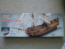 Mantua Golden Star wooden ship kit, ART 769