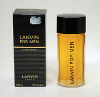 LANVIN FOR AFTER SHAVE 100 ML SPLASH VINTAGE STRIPED BOX