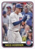 2020 TOPPS BIG LEAGUE RC NICO HOERNER CHICAGO CUBS ROOKIE - P7266