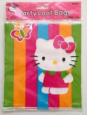 NEW HELLO KITTY Party Favor Goody Bags 8 PACK