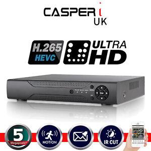 4/8/16 Channel 5MP CCTV DVR AHD 1920P Digital Video Recorder VGA HDMI BNC UK