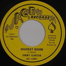 JIMMY CLANTON: Highway Bound / Venus in Blue Jeans ACE Rocker Bop 45 Orig VG++