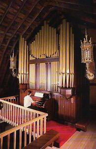 The Music House 12 Rank 1917 Estey Pipe Organ, Traverse City Michigan - Postcard