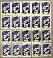 1990 Fleer #461 Barry Bonds Pittsburgh Pirates 20ct Card Lot