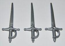 25381 Espada estoque plata 3u playmobil,sword,medieval,mosquetero,musketeer