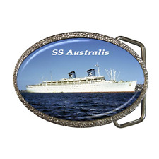 SS AUSTRALIS CRUISE SHIP REPRO BELT BUCKLE - GREAT GIFT ITEM