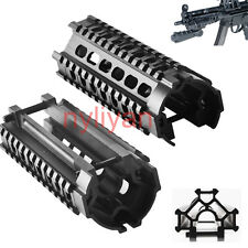 "For Rifle Gun Hunting 5.7"" Metal MP5 Tri-Rail Weaver/Picatinny Handguard Mount"