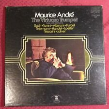 MAURICE ANDRE The Virtuoso Trumpet RCA 3LP Box CRL3-1430 Red Seal EX