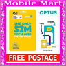 OPTUS◉$30 SIM CARD Prepaid 3G 4G◉Voice Call Text Data◉ROLLOVER◉FULL-MICRO-NANO◉
