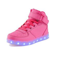 SAGUARO LED Light Lace Up Luminous Shoes Sportswear Sneaker Casual Shoes Unisex