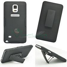 Cover Sliding Stand NERA per Samsung Galaxy Note 4 N910F clip custodia cintura
