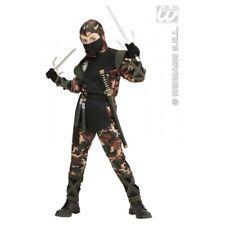 Widmann 2037 - Soldato Ninja Nero 140 cm 8-10 anni