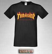 Camiseta Impreso Thrasher Camiseta Idea De Regalo Hombre Mujer Niño Niña