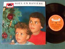 """NOEL en BAVIERE Pot-pourri chants Noel allemands - 25 cm 10 """" LP POLYDOR 645 182"""