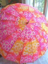 Vintage Pk Polan Katz Gold Handle Umbrella (Free Shipping)