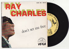 EP RAY CHARLES-DON'T SET ME FREE-FRENCH