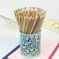 Rainbow Colored Pencil Drawing Stationery School Supplies Color Pencils Drawing