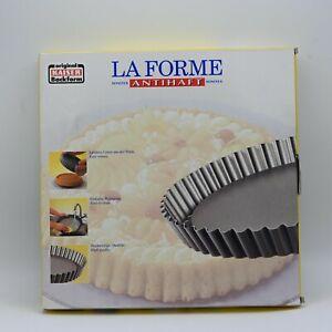 "Kaiser La Forme Backform Non-Stick Flan Antihaft Pan 12"" 30cm Baking Oven Pan"
