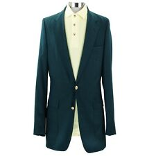 Green Golf Masters Worsted Wool Men's Hopsack Sport Coat Richman Brothers 36 R