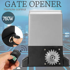 220V 750W Electric Sliding Gate Opener Automatic Motor Remote Controller