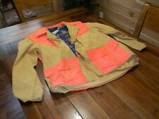 Vintage Red Head Size Large Men's Canvas Hunting Jacket / Field Coat