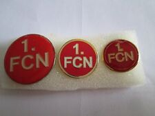 J1 Lot 3 Pins Lot 1. FC Nürnberg FC Club Brosche Football Fußball Broschen Badge