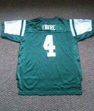 Bret Favre #4 New York Jets Reebok Jersey kids size XL18-20 used Green/white