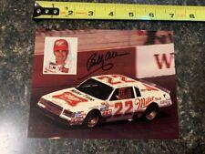 NASCAR Signed Bobby Allison Postcard – 25 cards ship for $9