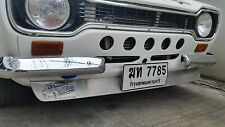 Fits Ford Escort Mk1 front spoiler wing chin lip valance aluminium aluminum