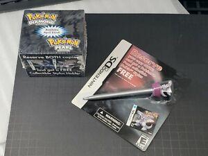 POKEMON Diamond & Pearl Nintendo DS [*Palkia] Stylus & Holder 2 pcs Set NISP