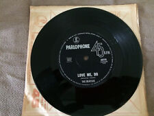"""THE BEATLES I SAW HER STANDING THERE / LOVE ME DO SINGLE RECORD 7"""""""