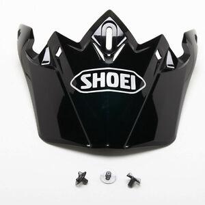 Shoei Sleek Visor Peak Black For Moto Motorcycle Motorbike VFX-W Helmets