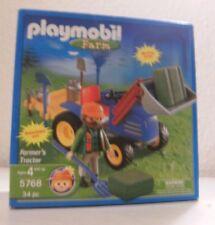Playmobil Farm US Version Farmer Bauer mit Traktor 5768 Neu & OVP Bauernhof