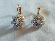 07d903f5514f Pendientes bisuteria dorados tipo dormilonas cuajados de piedras y cristales