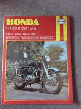 Honda CB250 & 350 Twins Haynes Manual