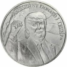 2020 Silver 999 Fine 1 oz President Donald Trump 2nd Term Election Coin BU+