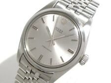 Auth ROLEX Oyster Oyster Precision 6426 Silver Men's Wrist Watch 3495563