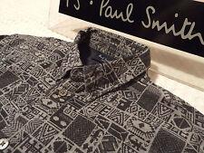 """Paul Smith Chemise Homme 🌍 taille S (tour de poitrine 40"""") 🌎 RRP £ 95+ 📮 ABSTRAIT ÉGYPTIEN"""