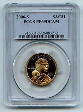 2006 S $1 Sacagawea Dollar PCGS PR69DCAM
