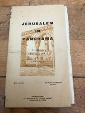 jerusalem in panorama . end edition by s.n. spyridon