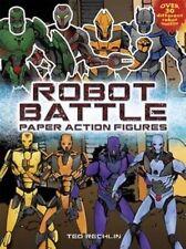 Robot Battle Paper Action Figures (Dover Paper Dolls),Rechlin, Ted,New Book mon0