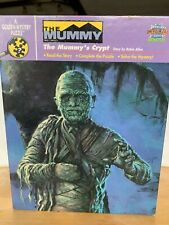 Golden Mystery PUZZLE The Mummy's Crypt Universal Studio Monsters Story RARE