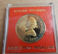 Madame tussauds Solid Proof Medallion Cased