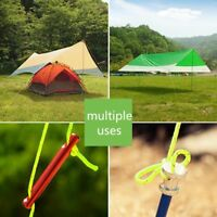 Campings Rope Reflective Paracord Tent Cord Camping Line Guyline Guy Strand New